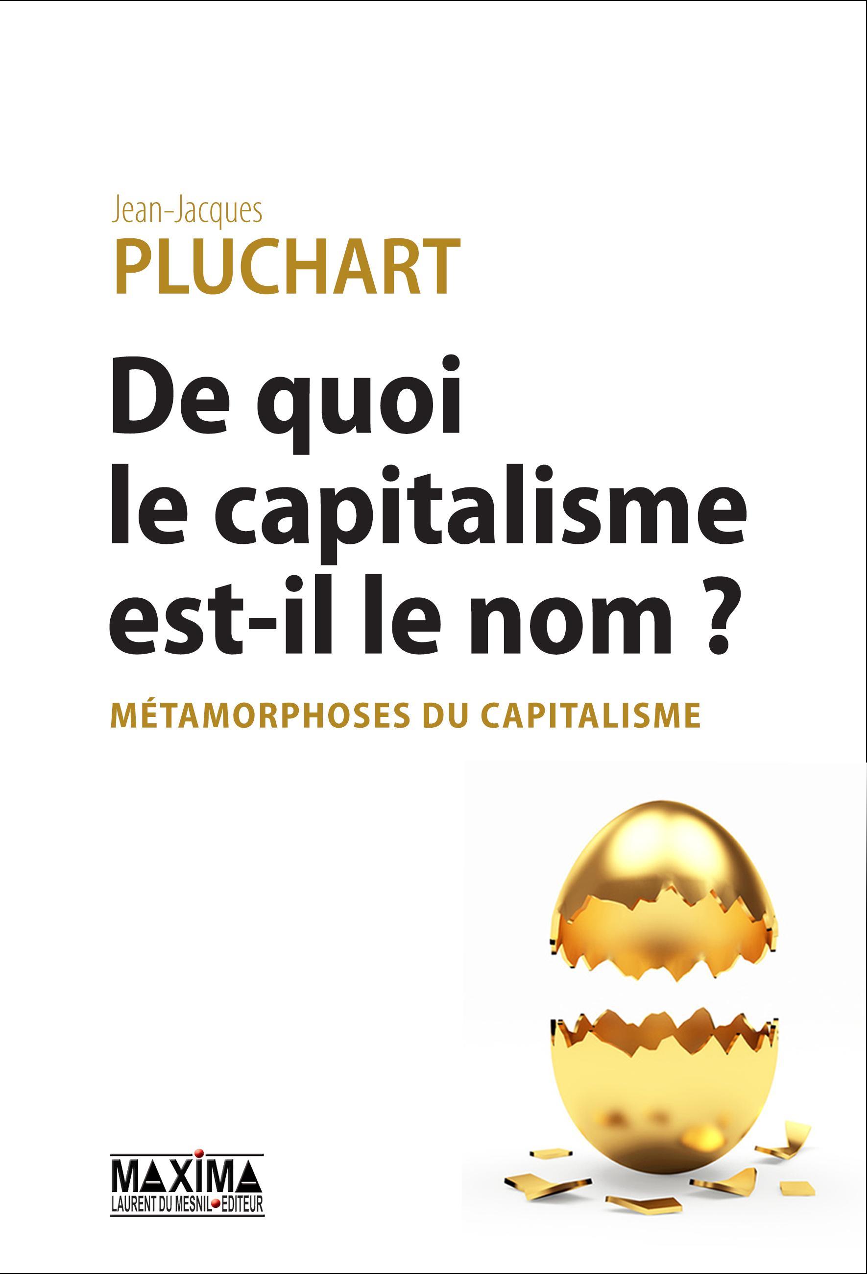 De quoi le capitalisme est-il le nom ?, MÉTAMORPHOSES DU CAPITALISME