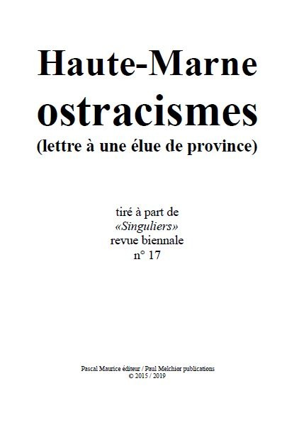Haute-Marne ostracismes