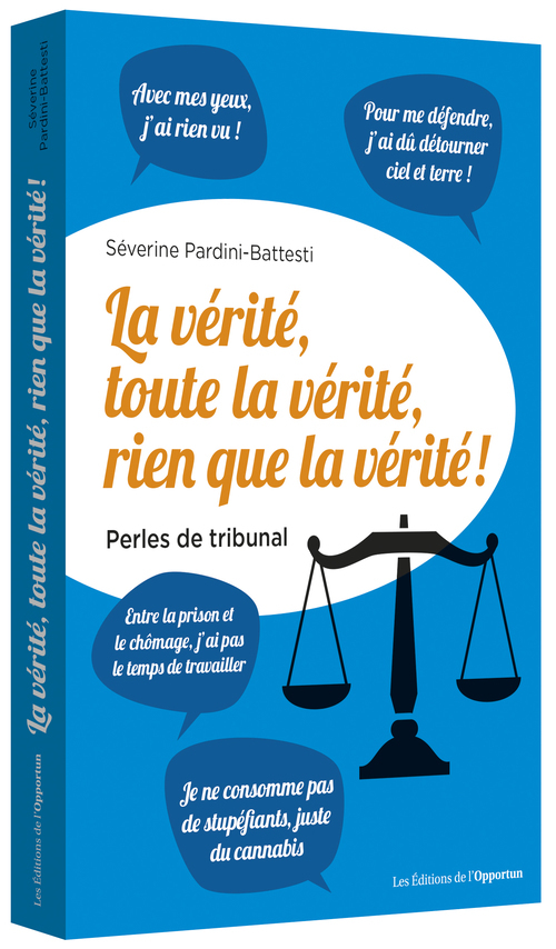 LA VERITE, TOUTE LA VERITE, RIEN QUE LA VERITE ! - PERLES DE TRIBUNAL