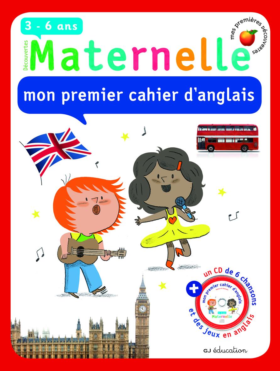 MPD MON PREMIER CAHIER D'ANGLAIS LIV-CD