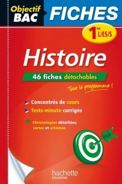 OBJECTIF BAC FICHES DETACHABLES HISTOIRE 1ERE L/ES/S