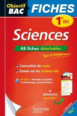 OBJECTIF BAC FICHES DETACHABLES SCIENCES 1ERE ES/L