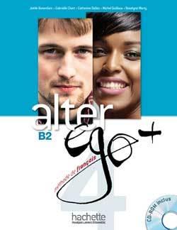 ALTER EGO + 4 : LIVRE ELEVE + CD-ROM