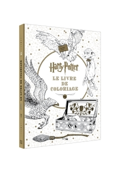 HARRY POTTER - LE LIVRE DE COLORIAGES