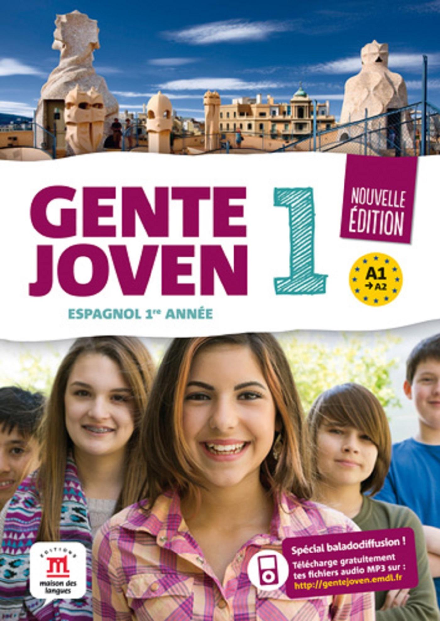 GENTE JOVEN 1 - LIVRE ELEVE NED