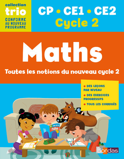 TRIO MATHS CP.CE1.CE2. CYCLE 2
