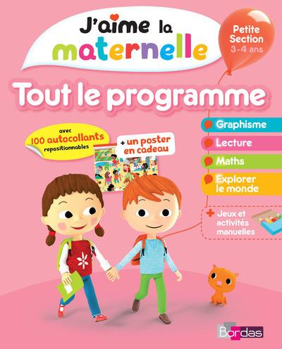 J'AIME LA MATERNELLE - TOUT LE PROGRAMME - PETITE SECTION