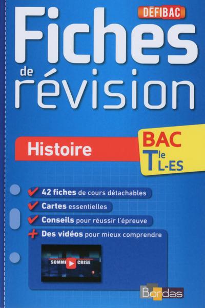 DEFIBAC FICHES DE REVISION HISTOIRE TLE L-ES