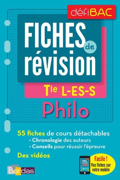 DEFIBAC - FICHES DE REVISION - PHILO TLE L-ES-S