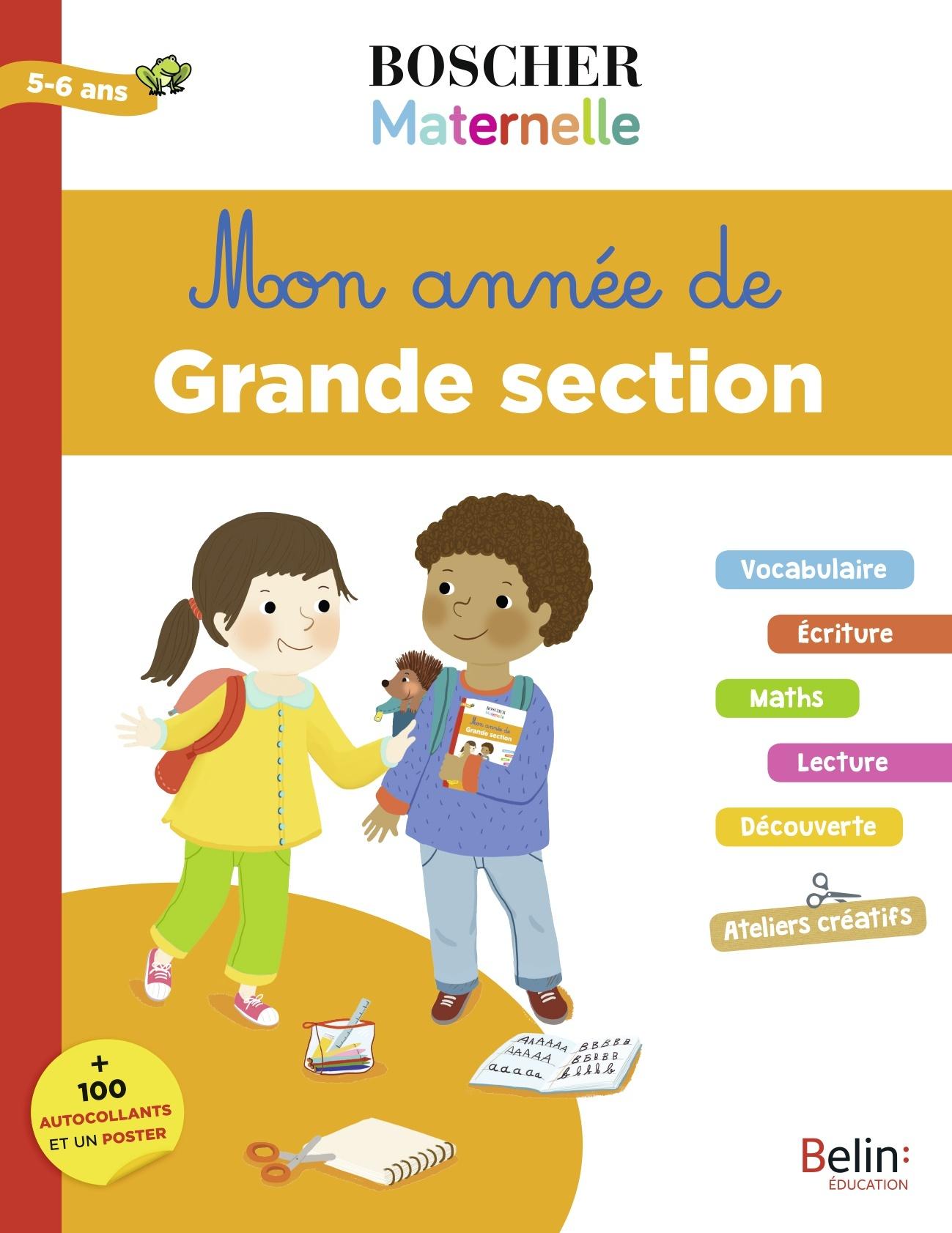 MON ANNEE DE GRANDE SECTION BOSCHER MATERNELLE