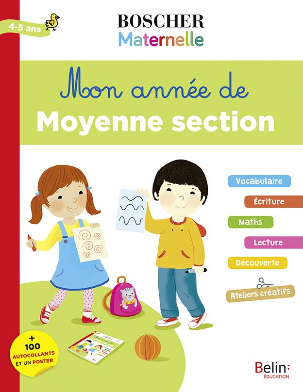 MON ANNEE DE MOYENNE SECTION BOSCHER MATERNELLE