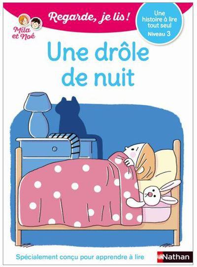 UNE DROLE DE NUIT - NIVEAU 1 - REGARDE JE LIS !