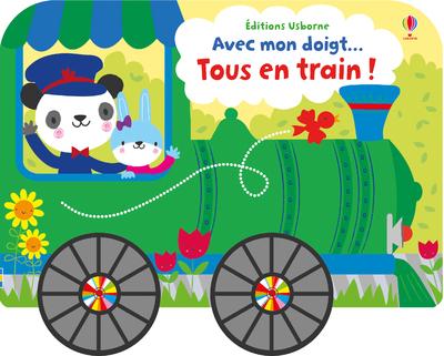 AVEC MON DOIGT... TOUS EN TRAIN !