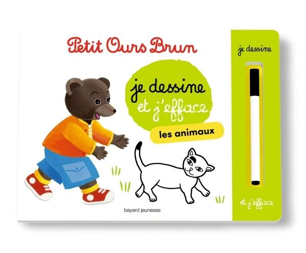L'ARDOISE DE PETIT OURS BRUN - LES ANIMAUX