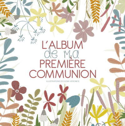 L'ALBUM DE MA PREMIERE COMMUNION