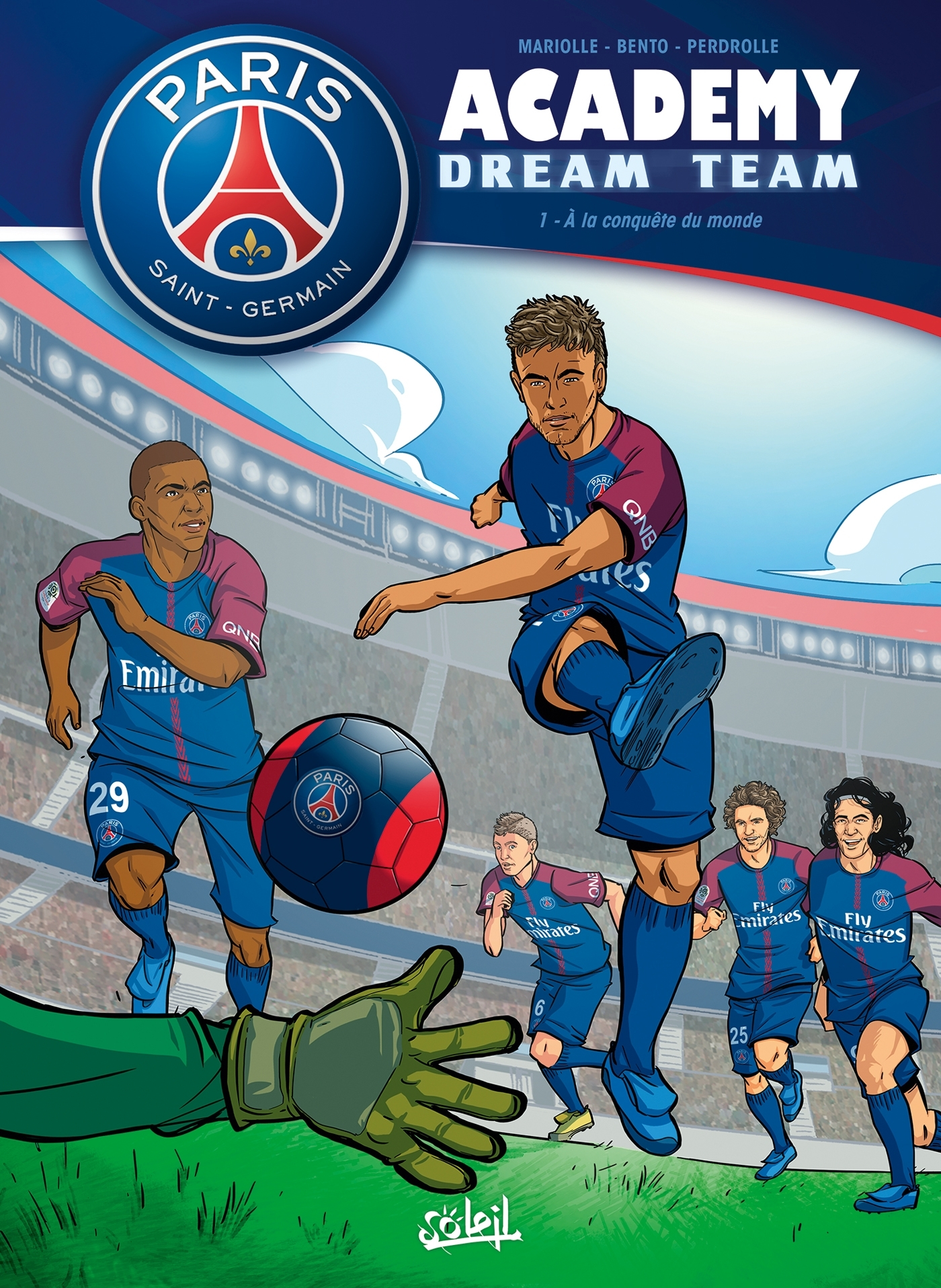 PARIS SAINT-GERMAIN ACADEMY DREAM TEAM 01 - T1