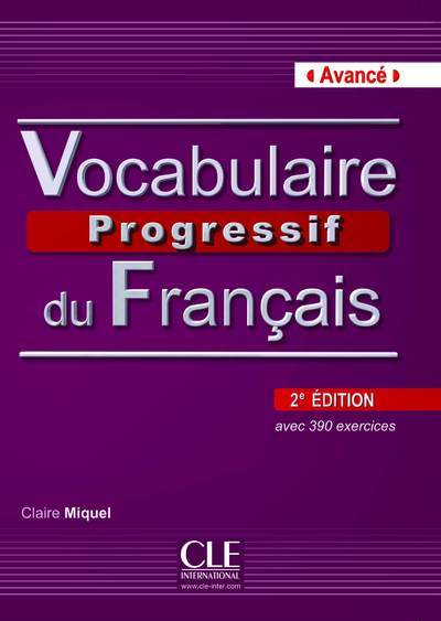 VOCABULAIR PROG FS AVANCE 2E +