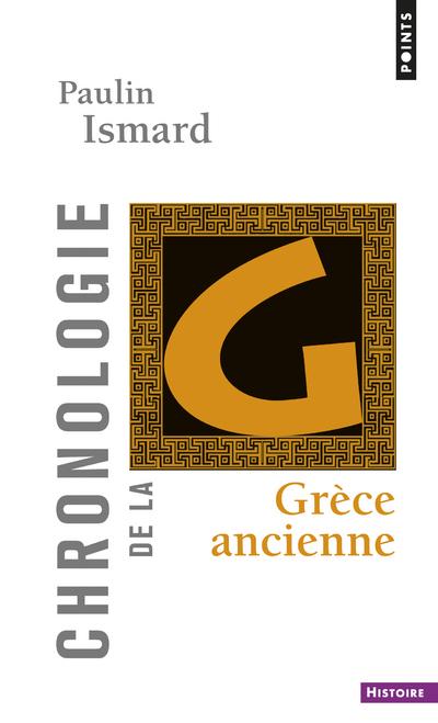 CHRONOLOGIE DE LA GRECE ANCIENNE