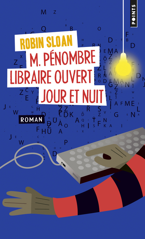 M. PENOMBRE, LIBRAIRE OUVERT JOUR ET NUIT