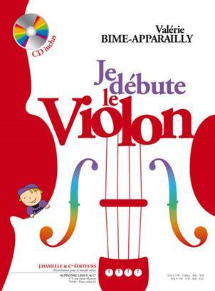 VALERIE BIME-APPARAILLY - JE DEBUTE LE VIOLON (AVEC CD)