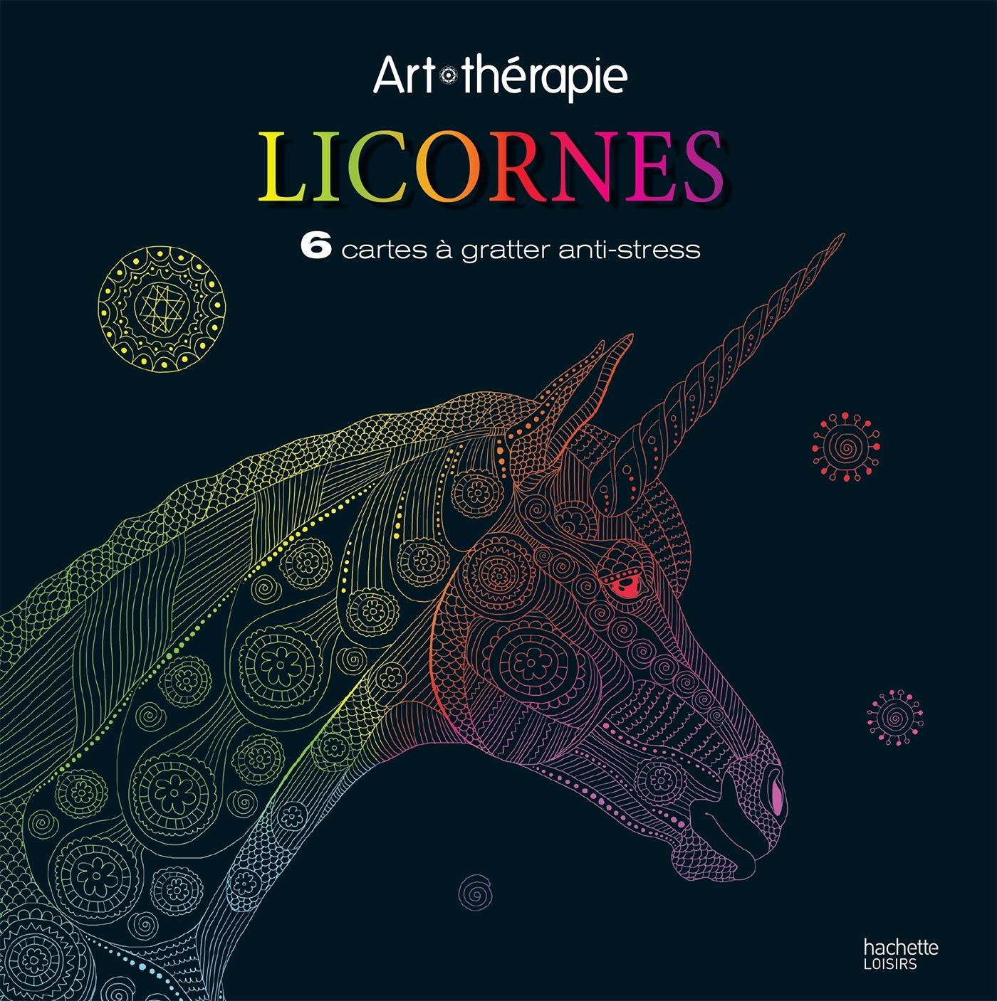 LICORNES - CARTES A GRATTER