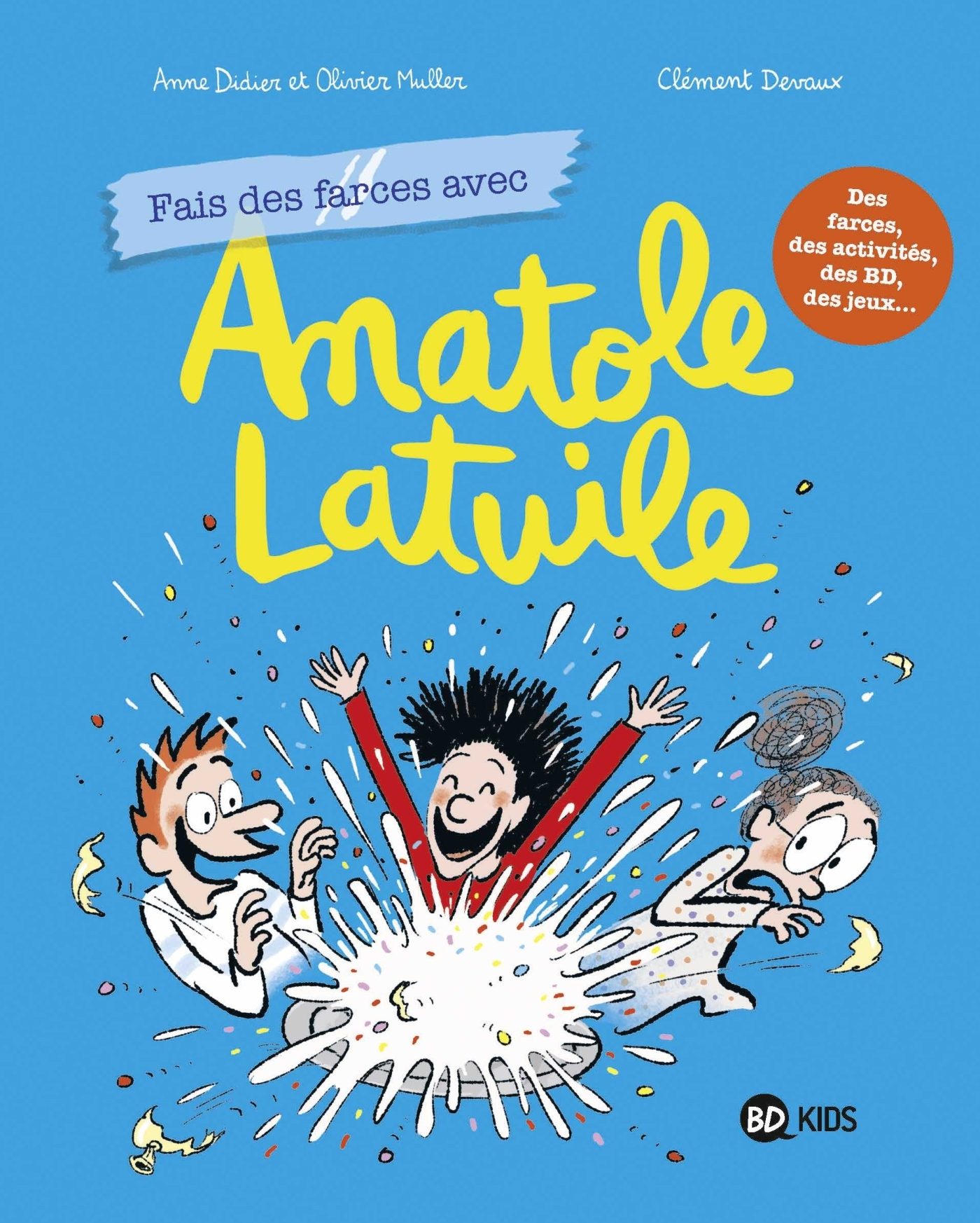 ANATOLE LATUILE CAHIER DE JEUX, TOME 02