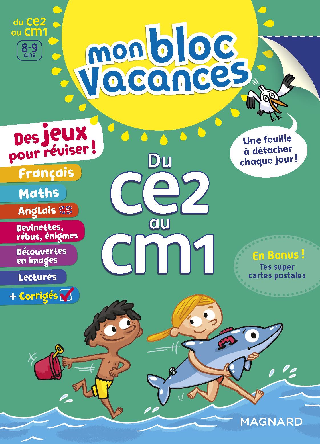 BLOC VACANCES CE2-CM1 (MON)