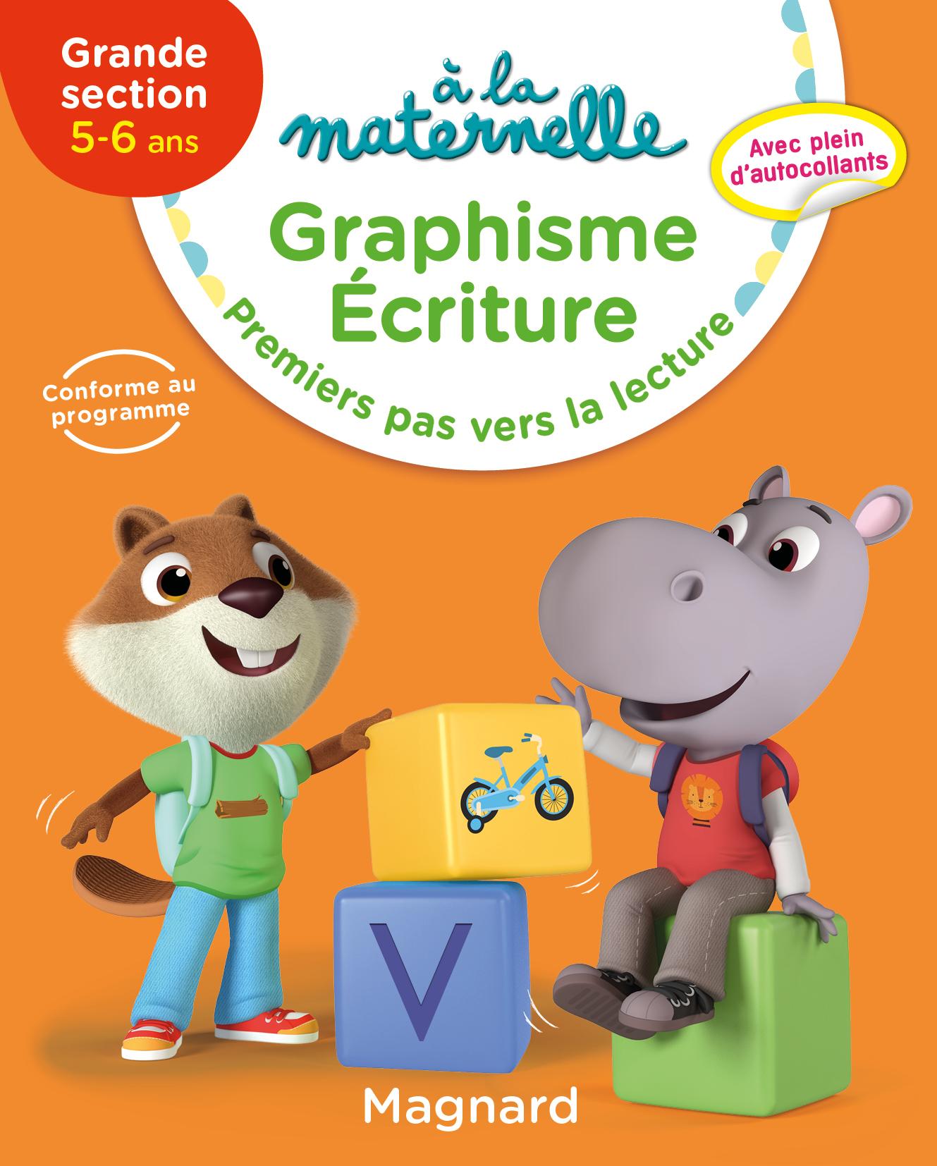 2019 A LA MATERNELLE GRAPHISME ECRITURE GS