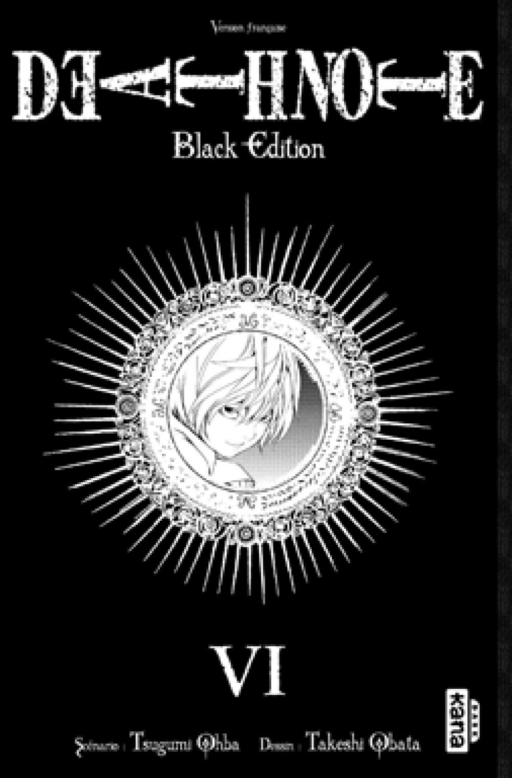 DEATH NOTE BLACK EDITION T6