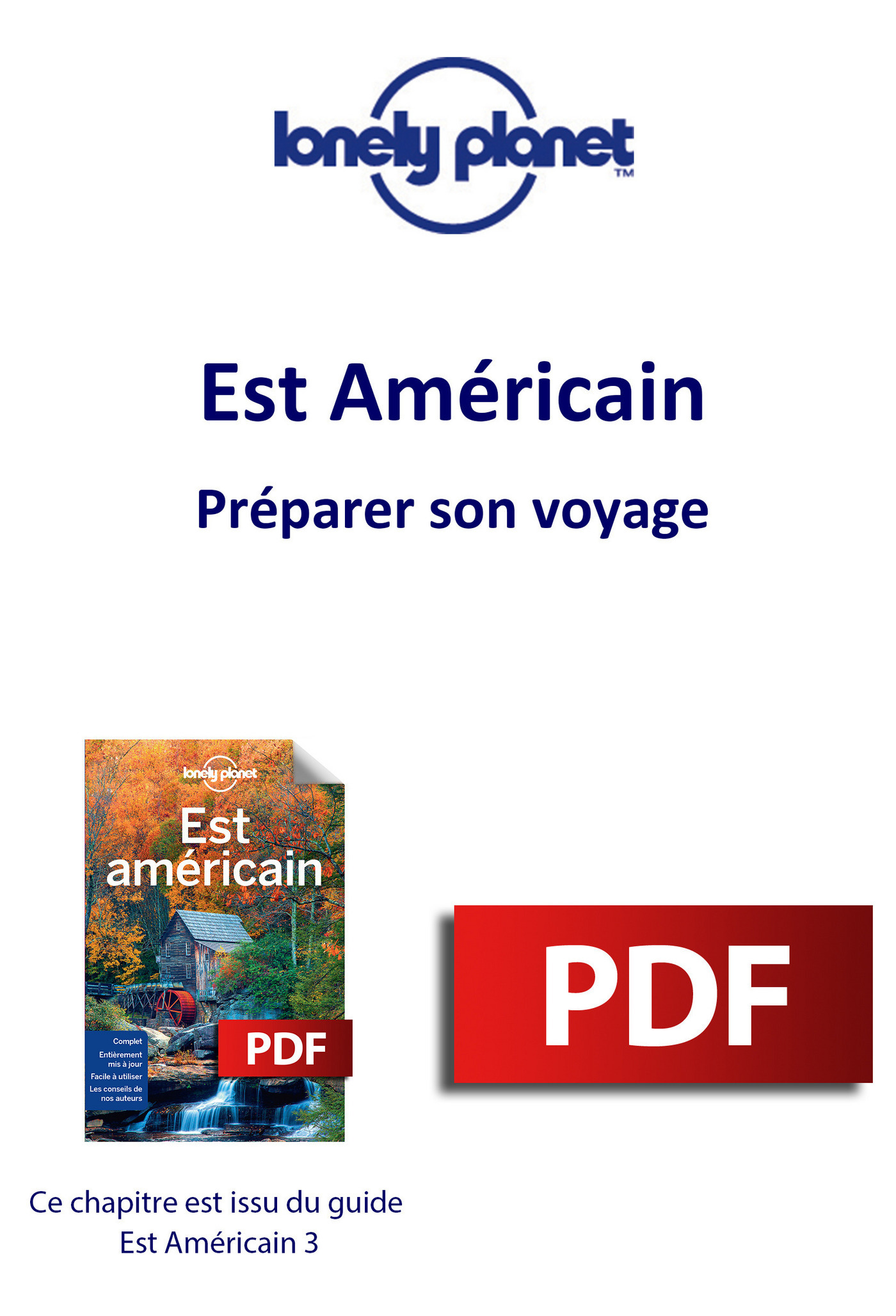 Est Américain - Préparer son voyage