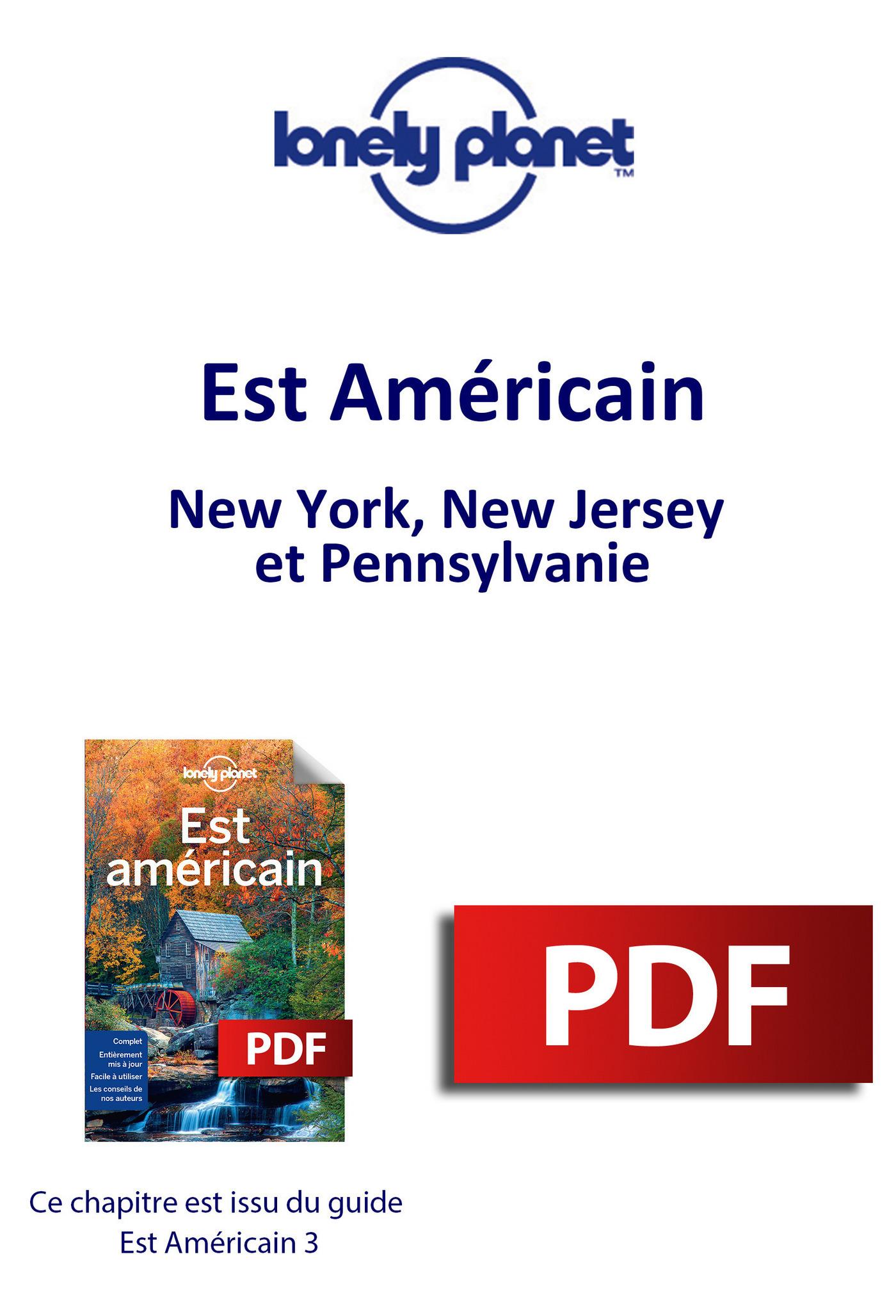Est Américain - New York, New Jersey et Pennsylvanie