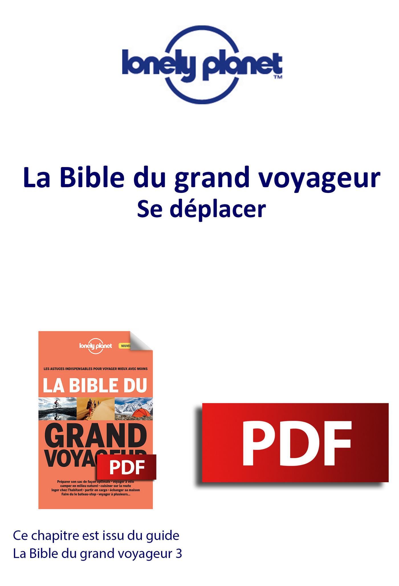 Bible du grand voyageur - Se déplacer