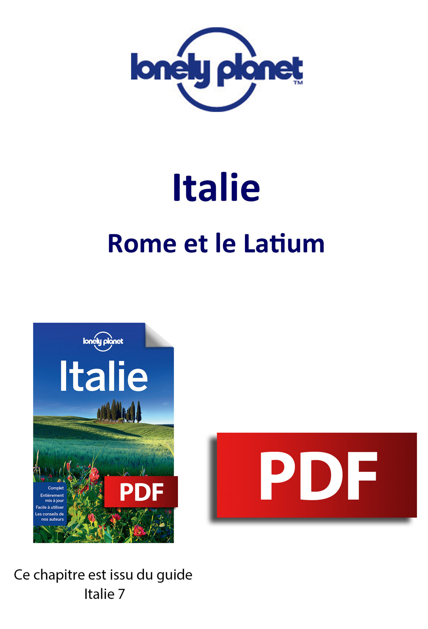 Italie - Rome et le Latium