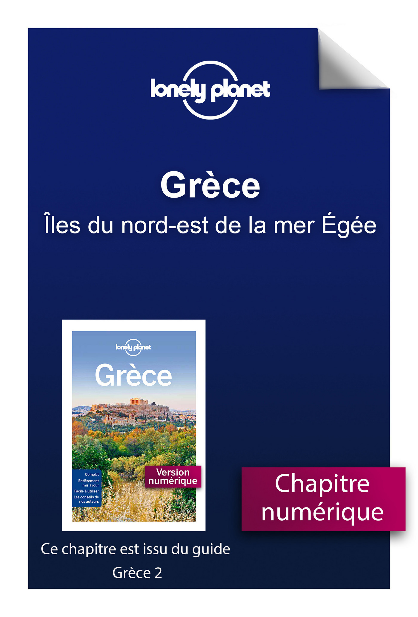 Grèce - Îles du nord-est de la mer Égée