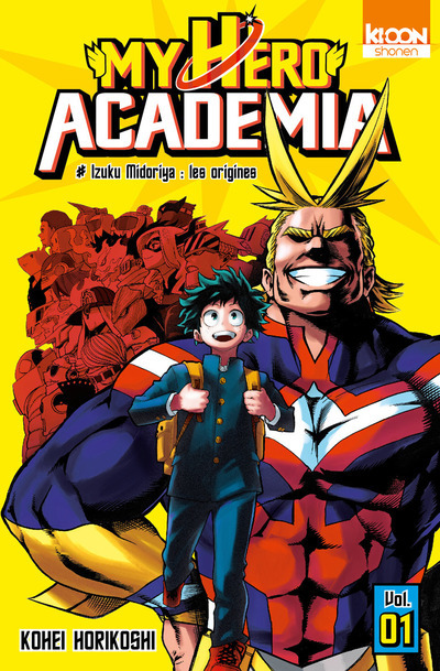 MY HERO ACADEMIA T01 - VOL01