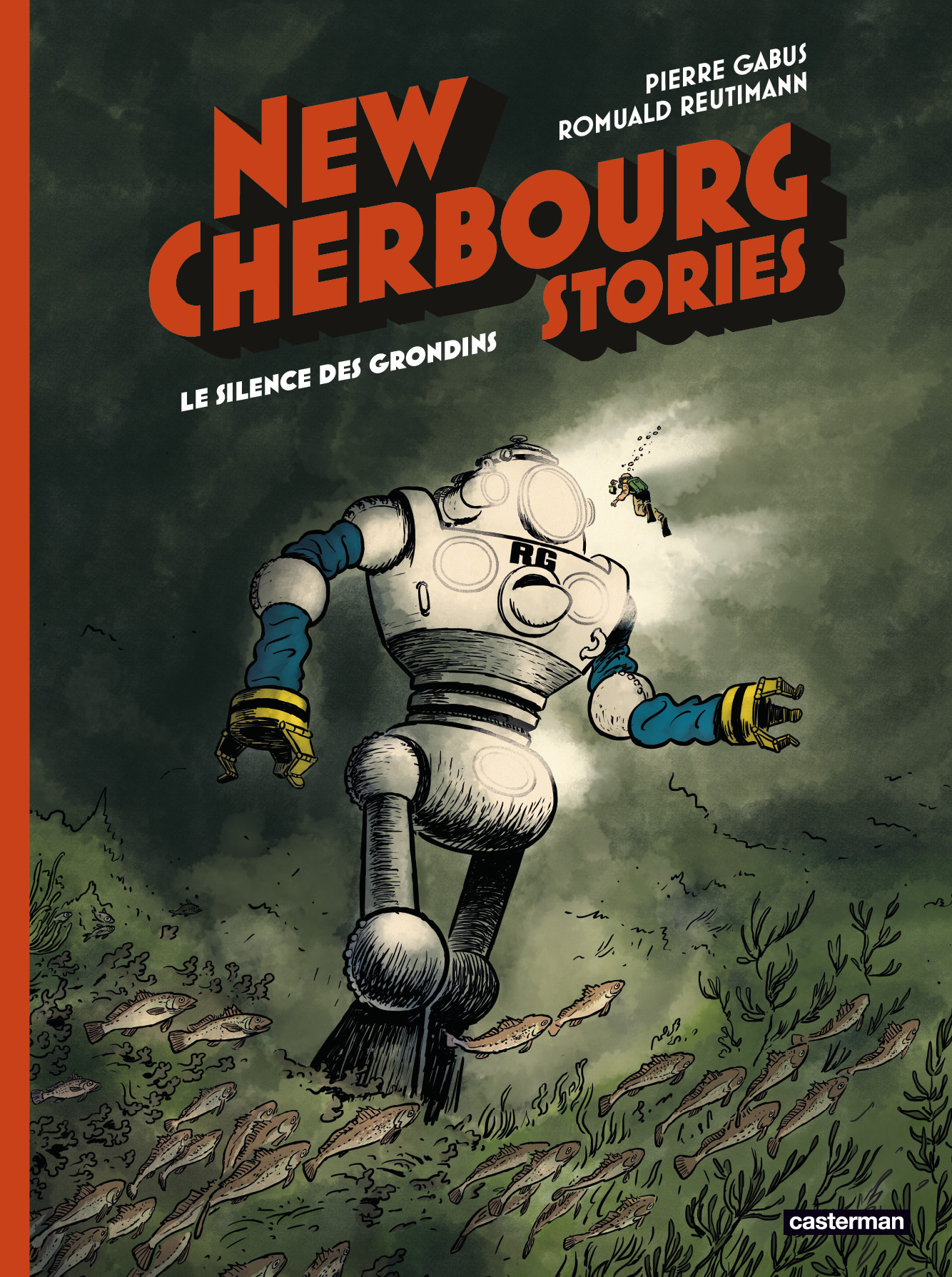 NEW CHERBOURG STORIES - T02 - LE SILENCE DES GRONDINS