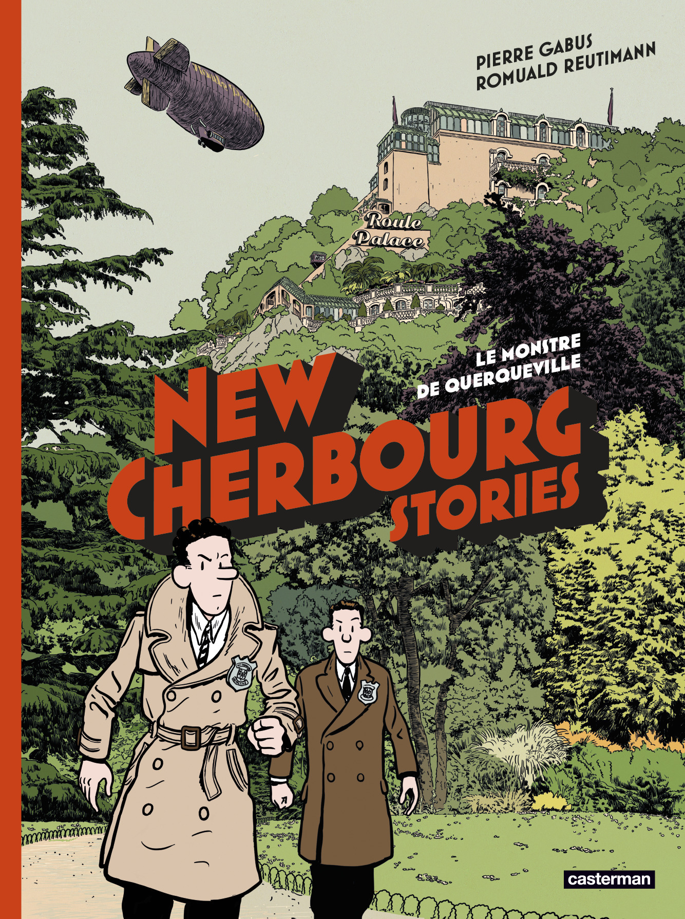 NEW CHERBOURG STORIES - T01 - LE MONSTRE DE QUERQUEVILLE