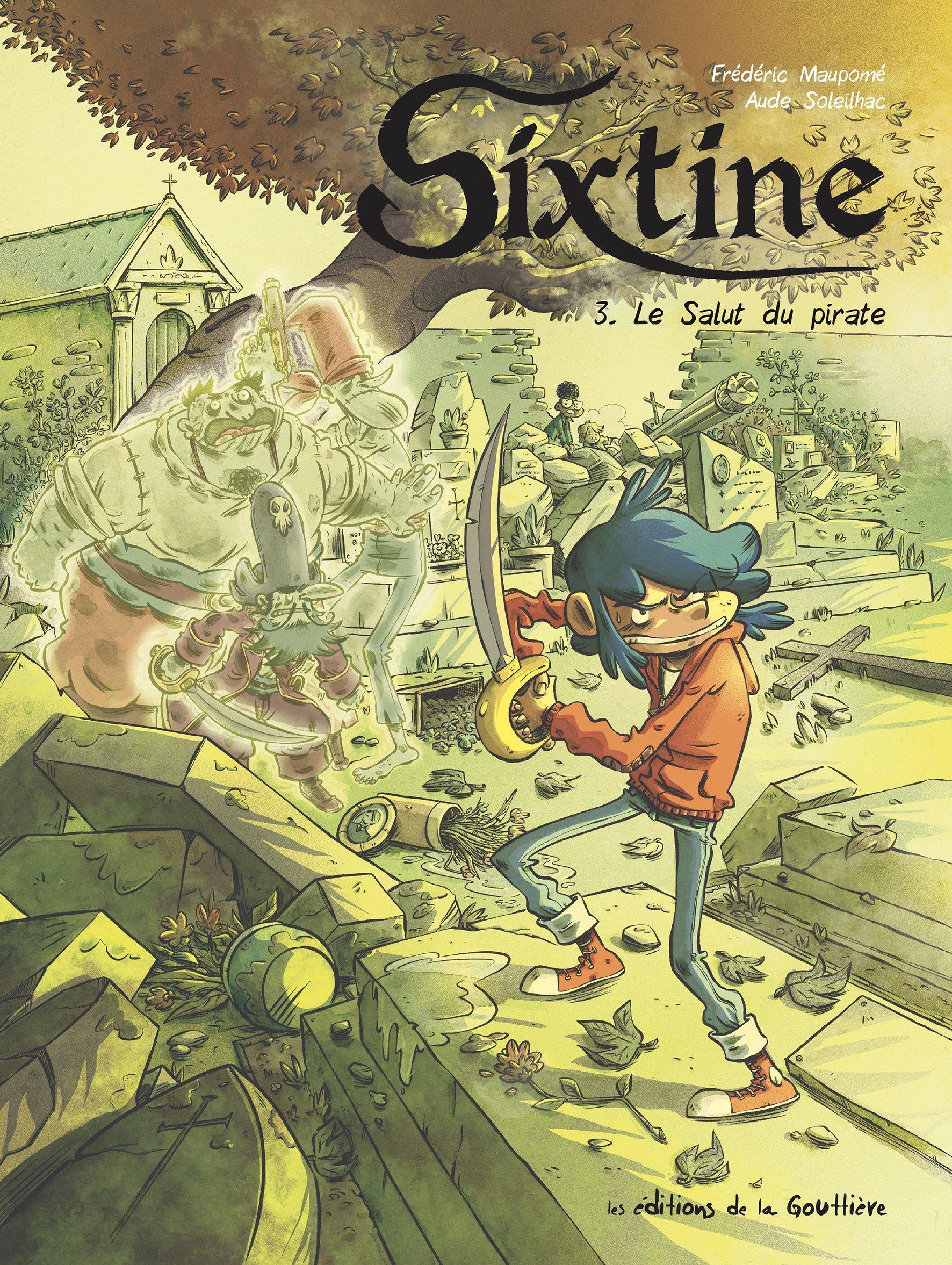SIXTINE T3-LE SALUT DU PIRATE