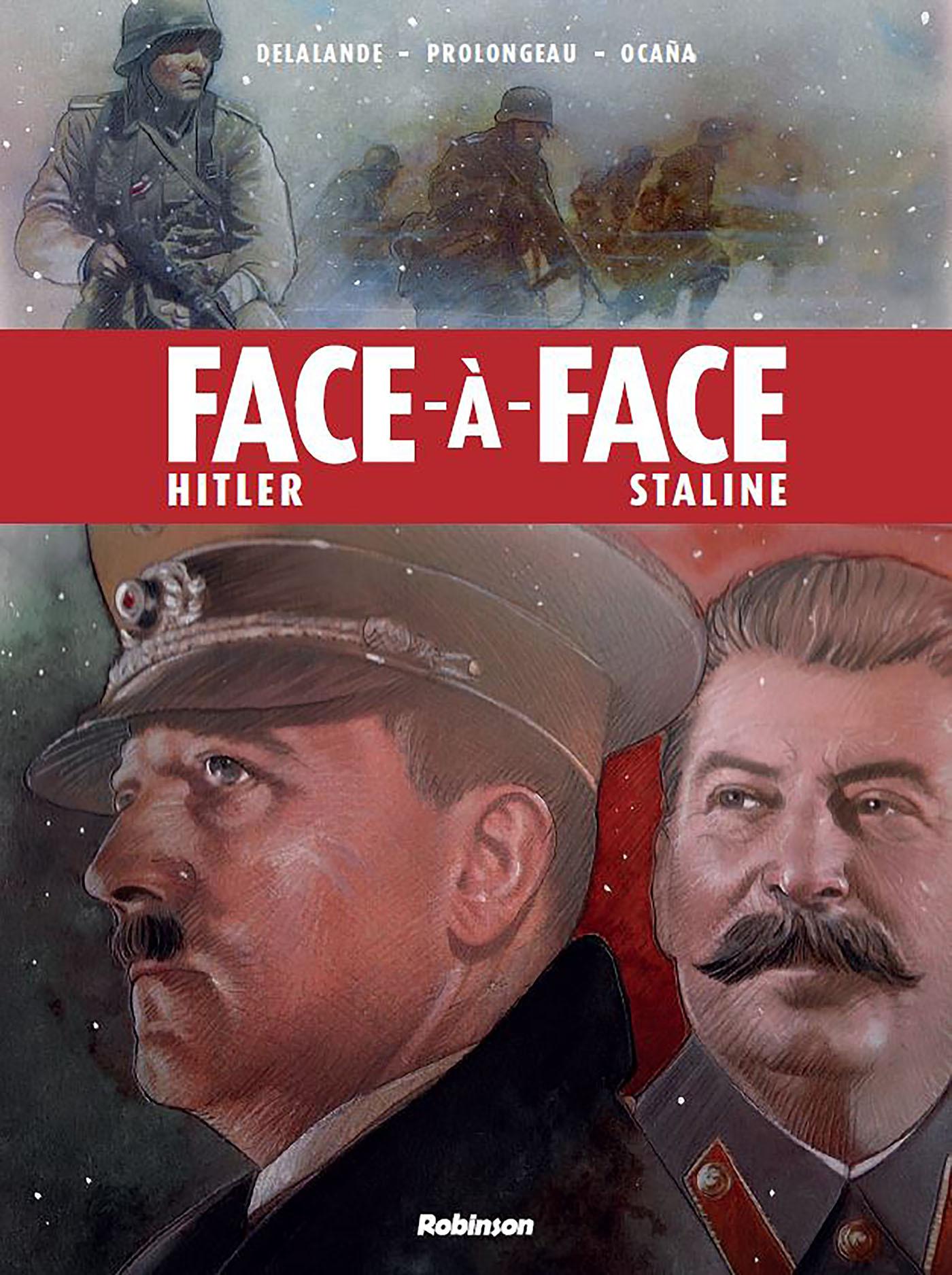 FACE A FACE - HITLER/STALINE