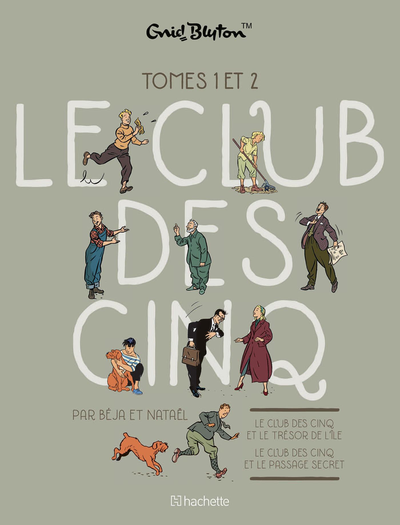 LE CLUB DES 5 - ETUI T1 + T2