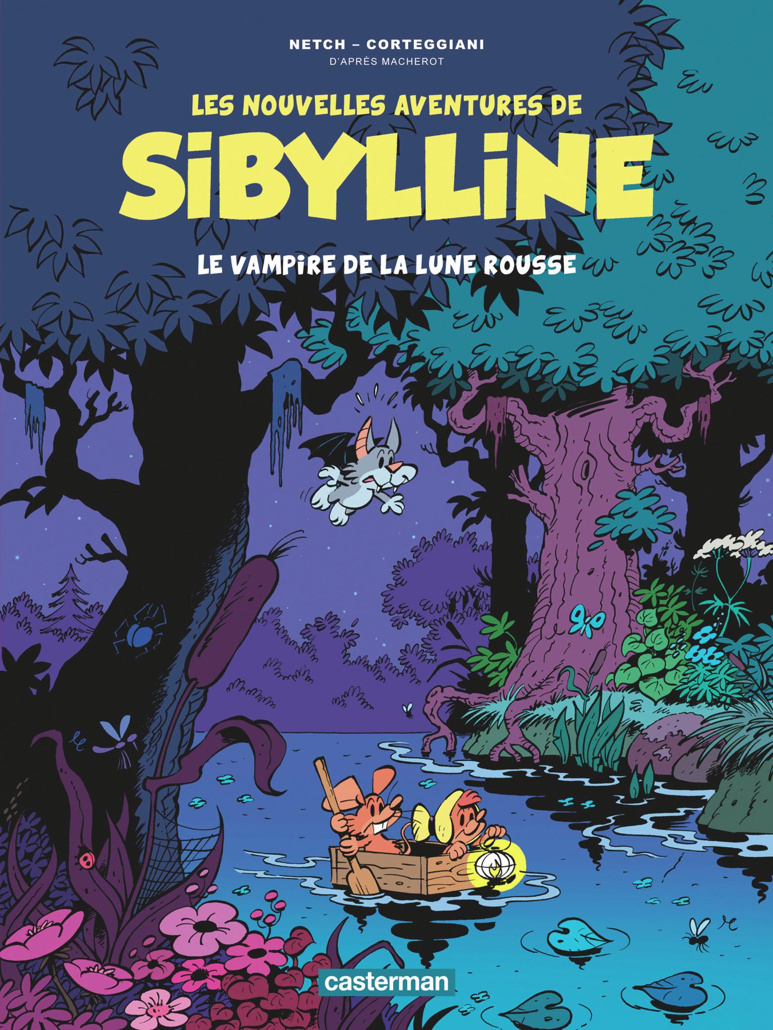 LES NOUVELLES AVENTURES DE SIBYLLINE - T2 - LE VAMPIRE DE LA LUNE ROUSSE