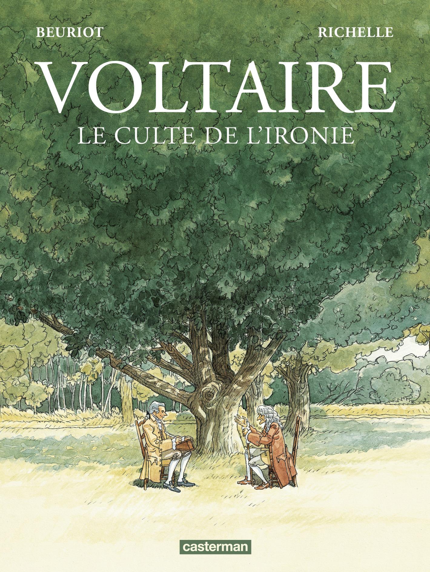 VOLTAIRE - LE CULTE DE L'IRONIE