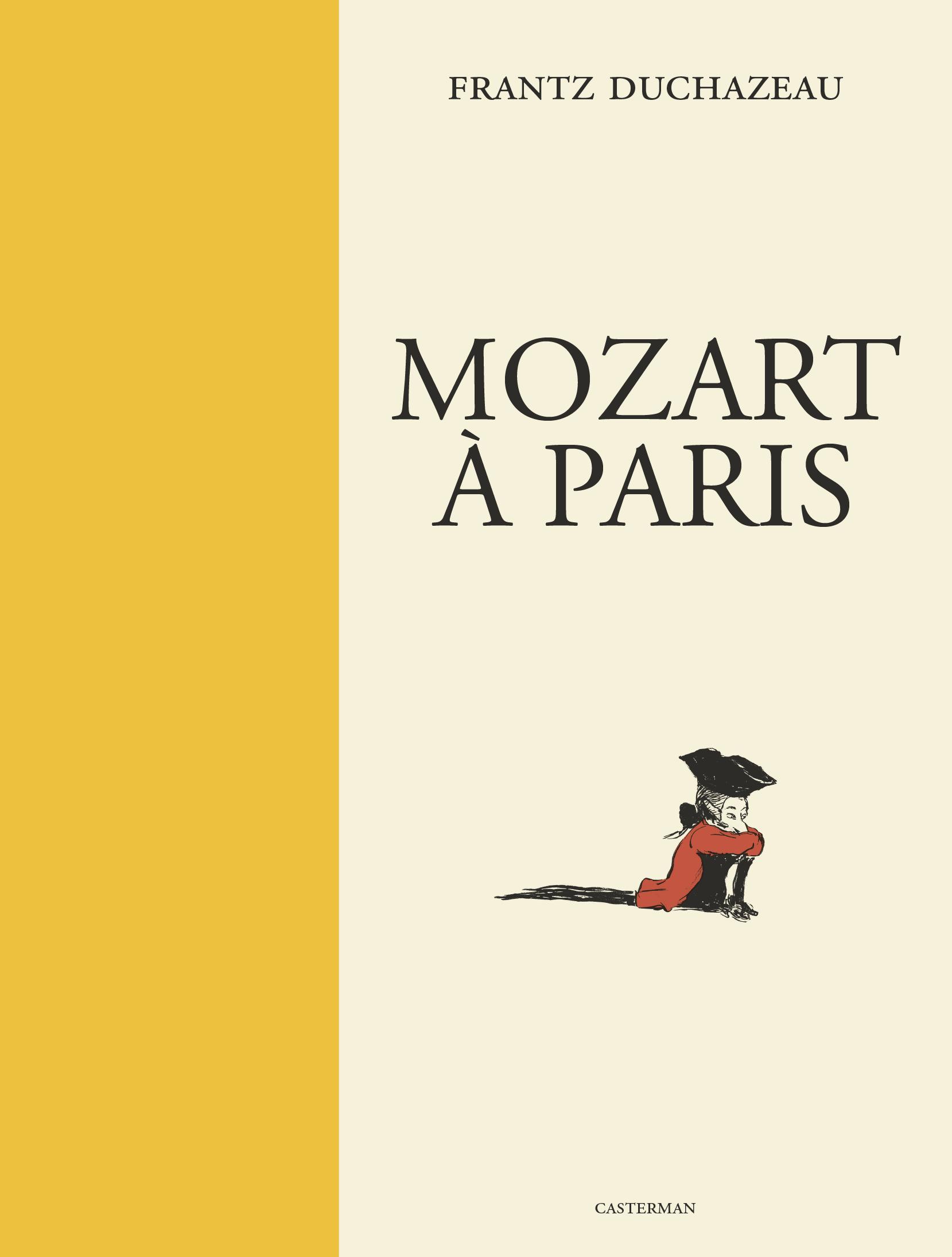 MOZART A PARIS - EN NOIR ET BLANC