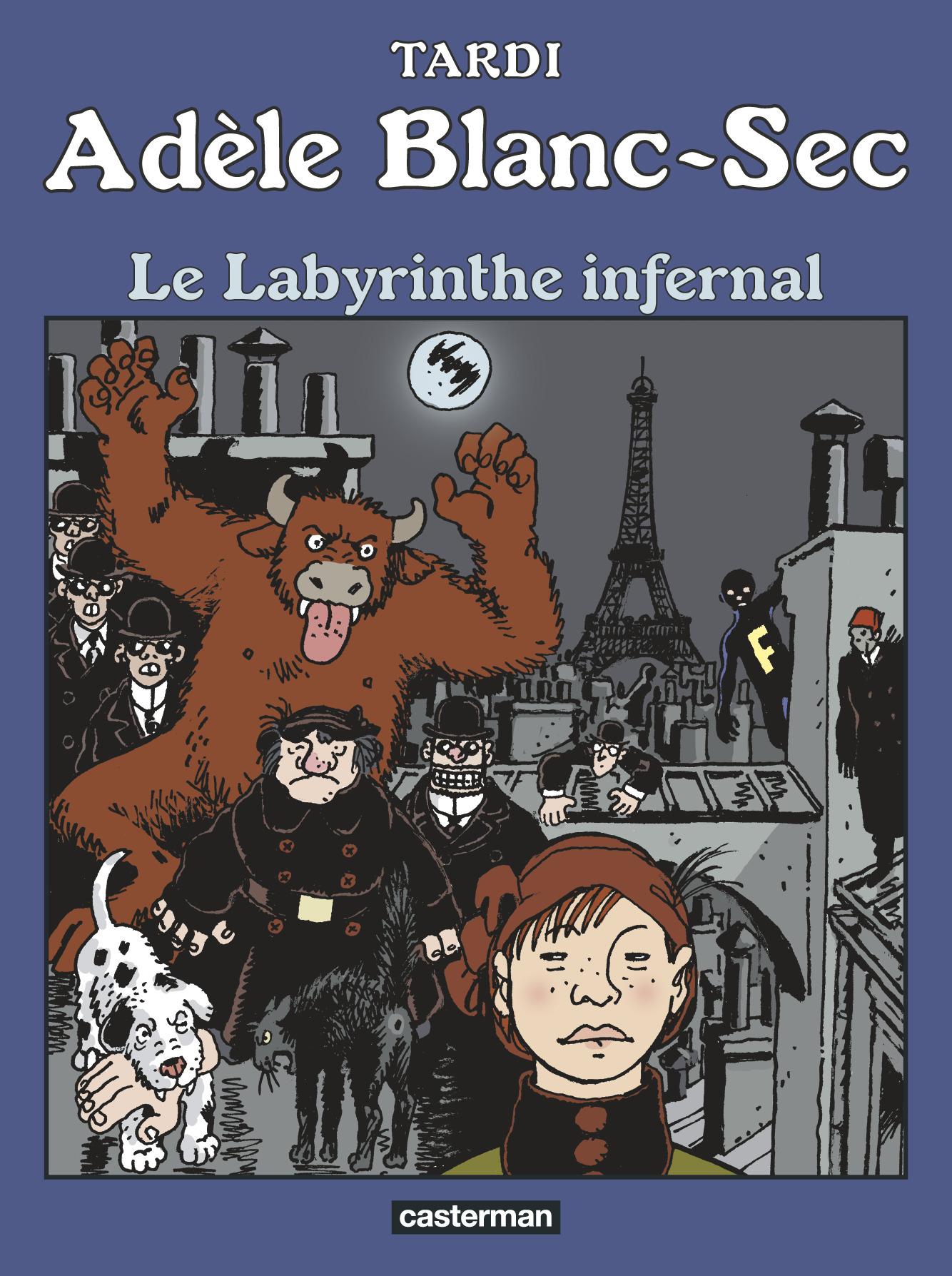 ADELE BLANC-SEC - T09 - LE LABYRINTHE INFERNAL
