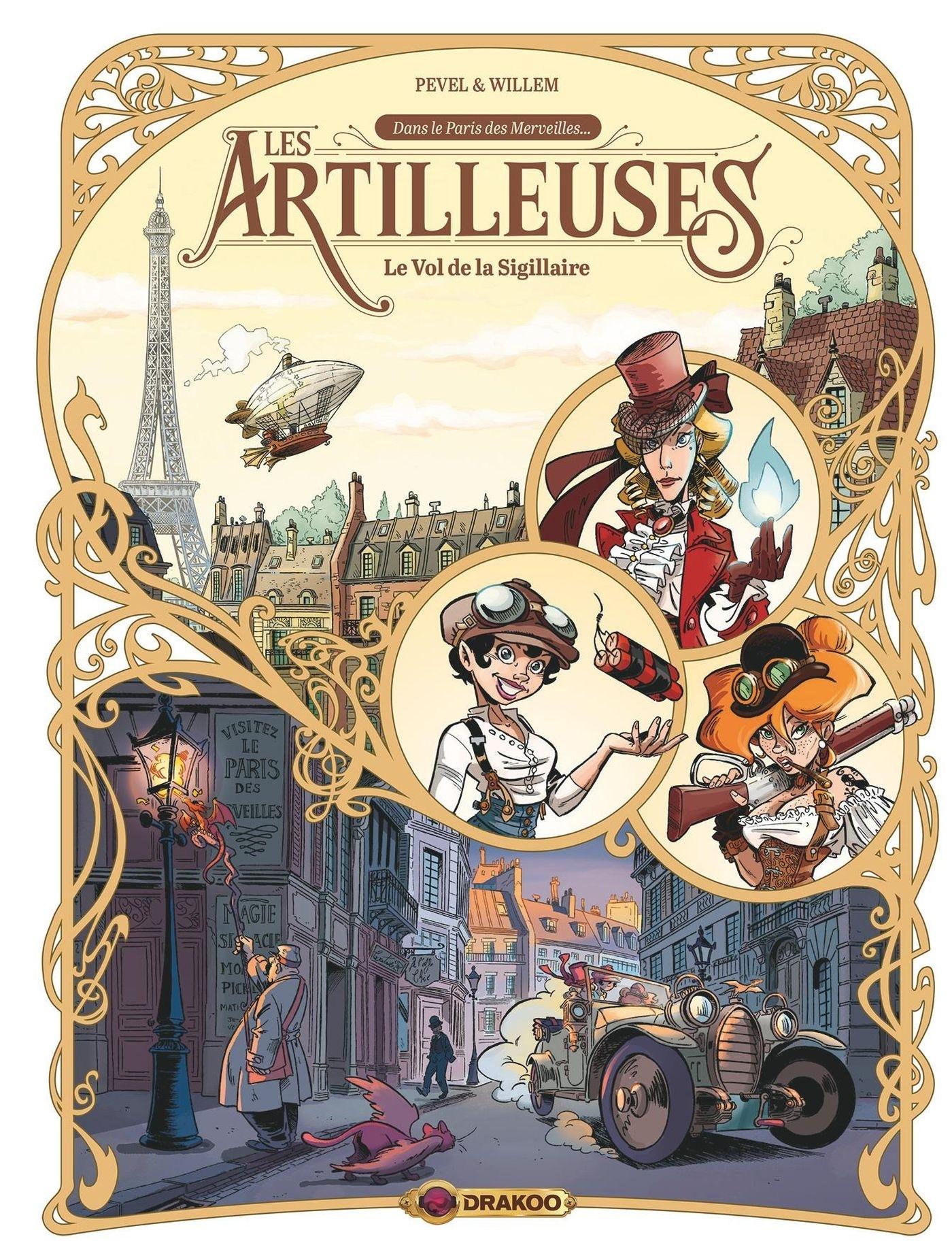 LES ARTILLEUSES - T01 - LES ARTILLEUSES - VOL. 01/3 - LE VOL DE LA SIGILLAIRE
