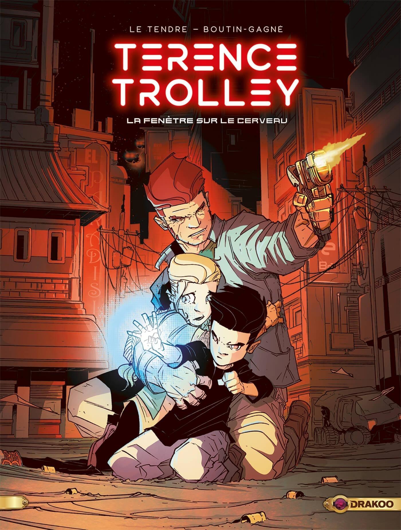 TERENCE TROLLEY - T01 - TERENCE TROLLEY - VOLUME 01 - LA FENETRE SUR LE CERVEAU