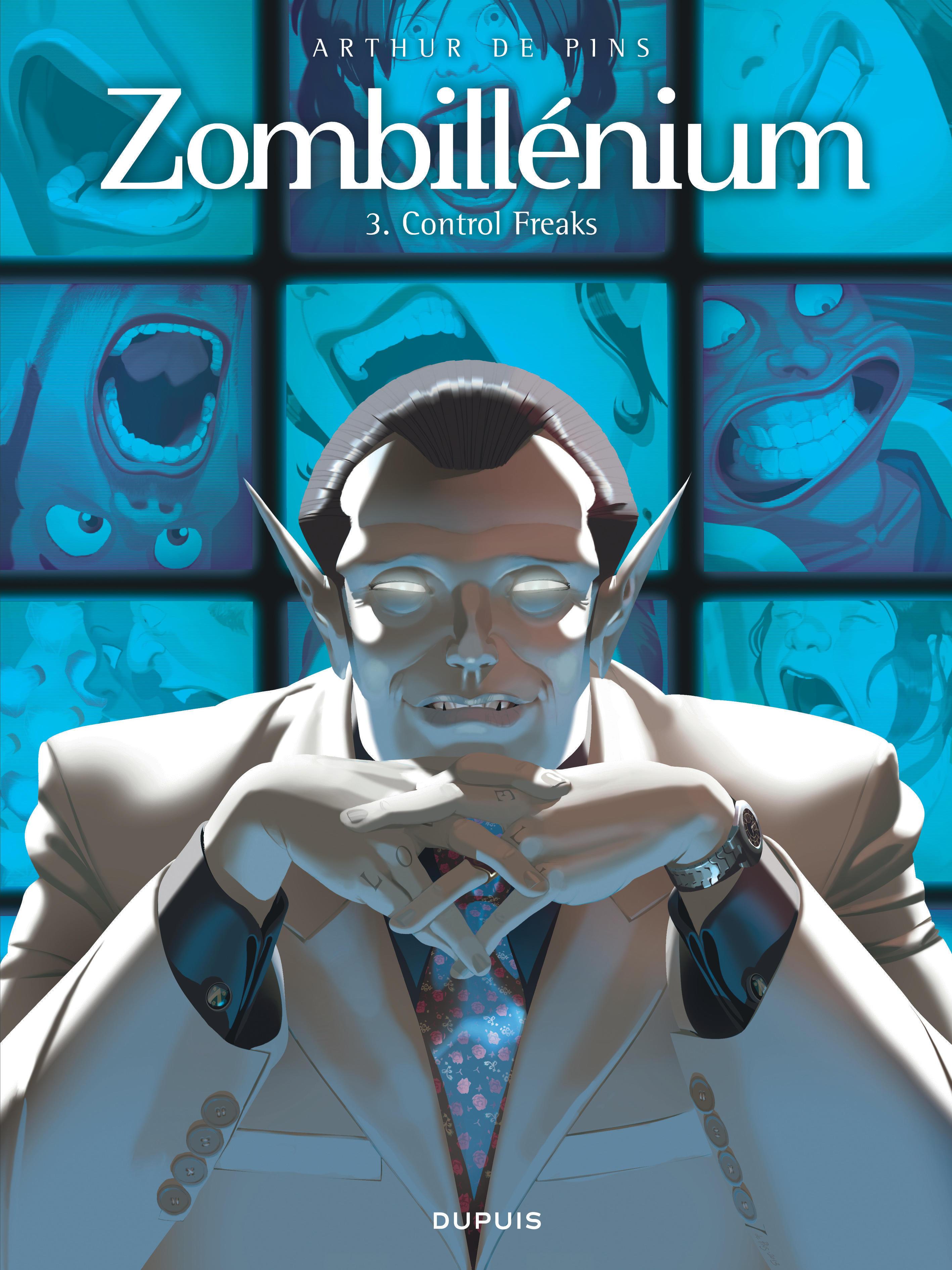ZOMBILLENIUM - TOME 3 - CONTROL FREAKS