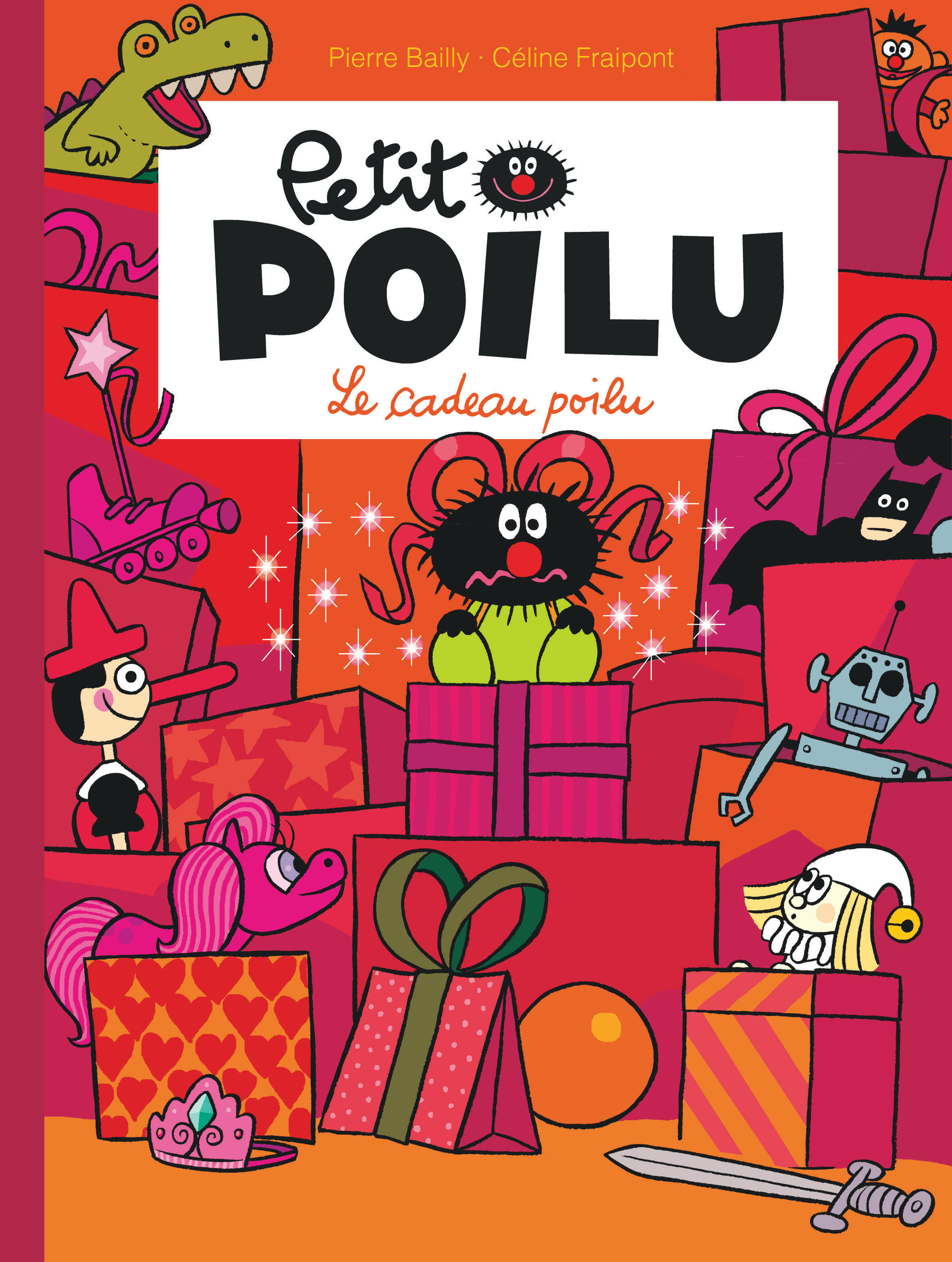 PETIT POILU - TOME 6 - LE CADEAU POILU NOUVELLE MAQUETTE