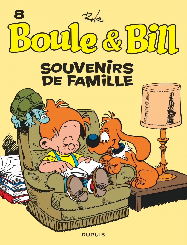 BOULE & BILL (DUPUIS) - BOULE ET BILL - TOME 8 - SOUVENIRS DE FAMILLE