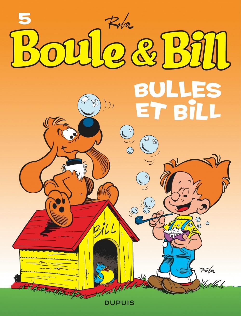BOULE & BILL (DUPUIS) - BOULE ET BILL - TOME 5 - BULLES ET BILL